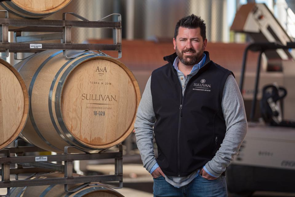 Jeff Cole, Director of Winemaking for Sullivan Rutherford Estate in Napa Valley