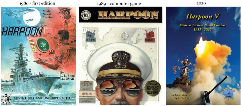 Notable covers of Harpoon series games