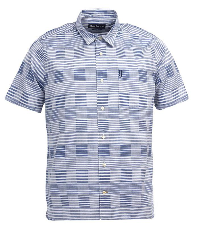 Barbour Stackpole Short Sleeved Shirt  Photo Courtesy of Barbour