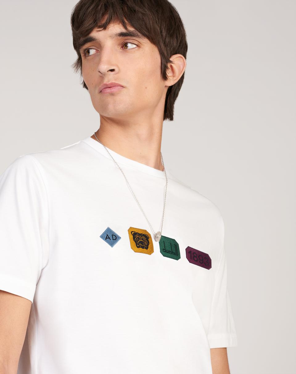 dunhill Hallmark Embroidered T-Shirt