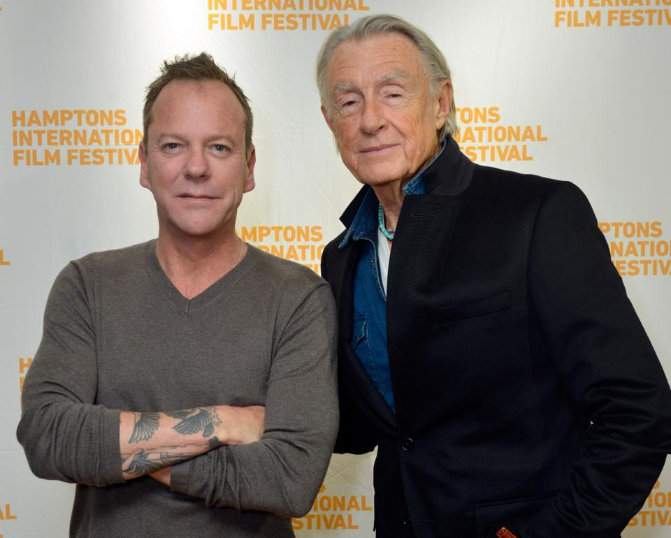Kiefer Sutherland, Joel Schumacher, interview, The Lost Boys, Flatliners, 24, The Fugitive