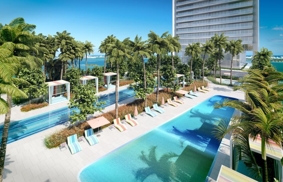 Missoni Baia, Miami, East Edgewater district, OKO Group, Asymptote Architecture