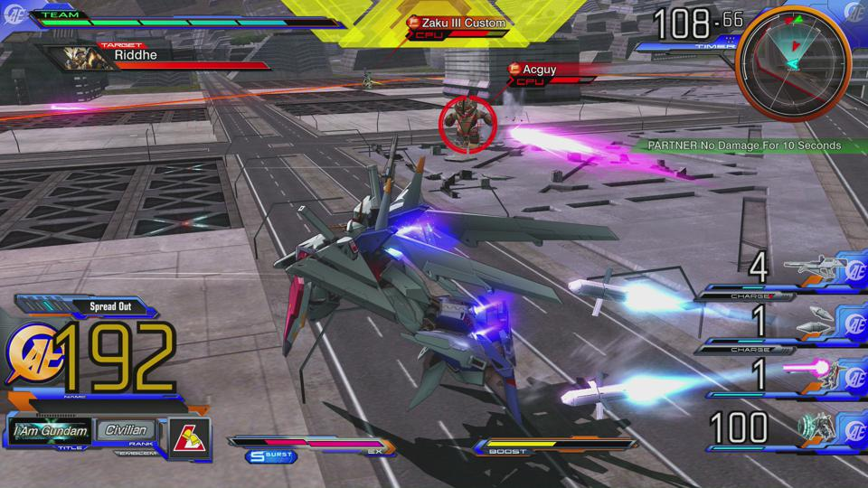 Gundam Extreme Versus Maxiboost ON
