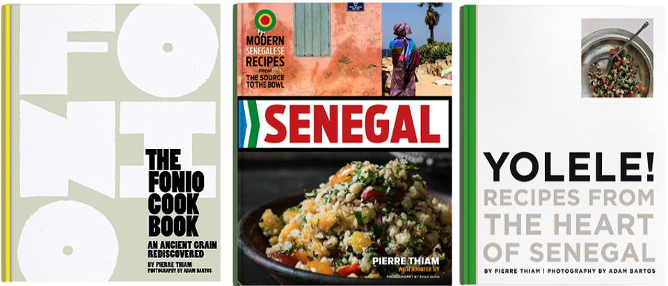 Pierre Thiam's 3 Cookbooks about Food from West Africa and the Super Grain Fonio