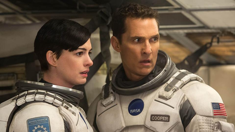 Matthew McConaughey and Anne Hathaway in Chris Nolan's 'Interstellar'