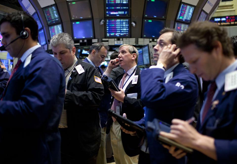 General Views Of Trading At The NYSE