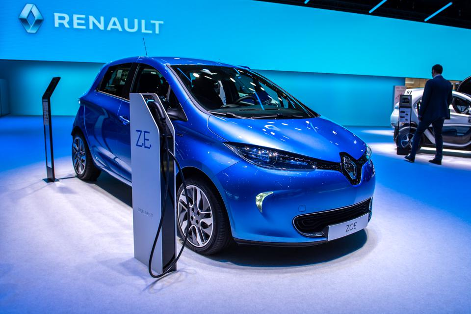 Renault ZOE. (Photo by Robert Hradil/Getty Images)