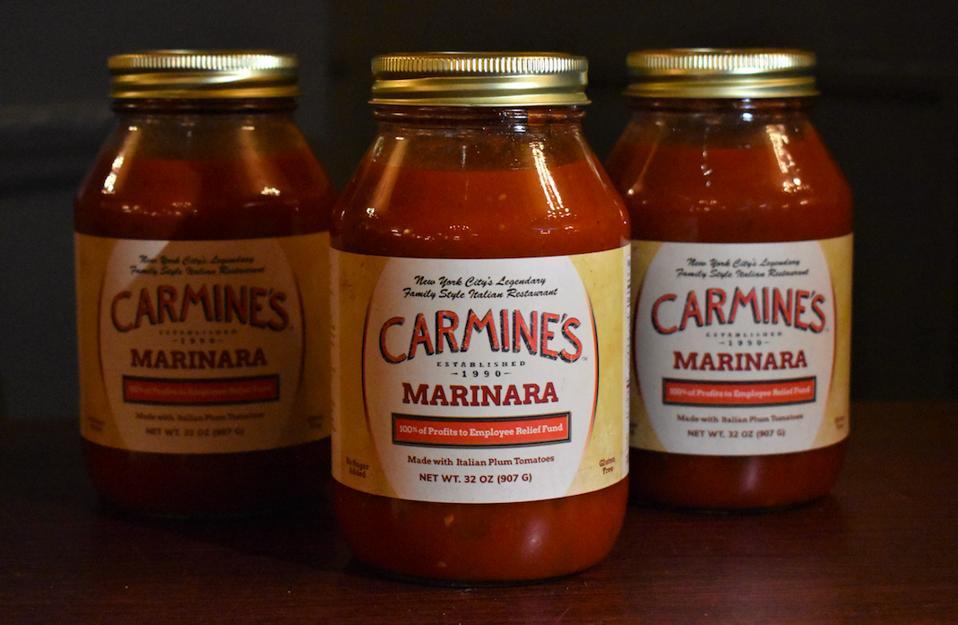 coronavirus, covid19, relief fund, italian sauce, meatballs