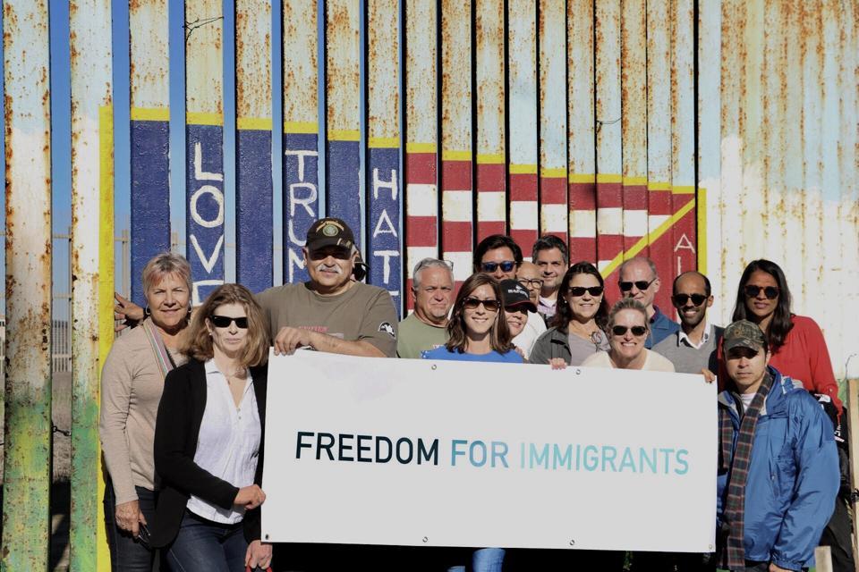 FFI staff & volunteers with friends from J.M. Kaplan Fund.