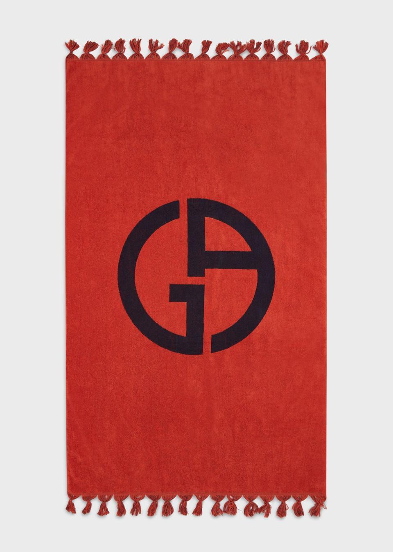 Giorgio Armani Beach Towel with GA logo