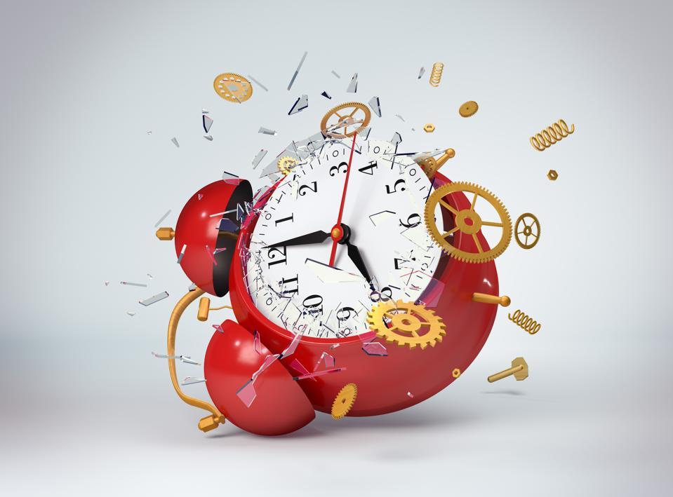 Alarm clock broken