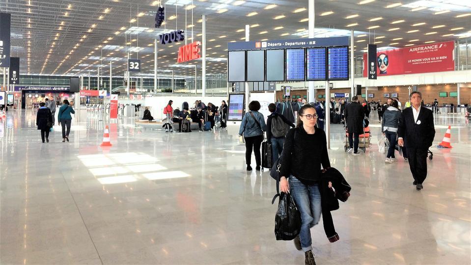 Paris Orly Airport main concourse