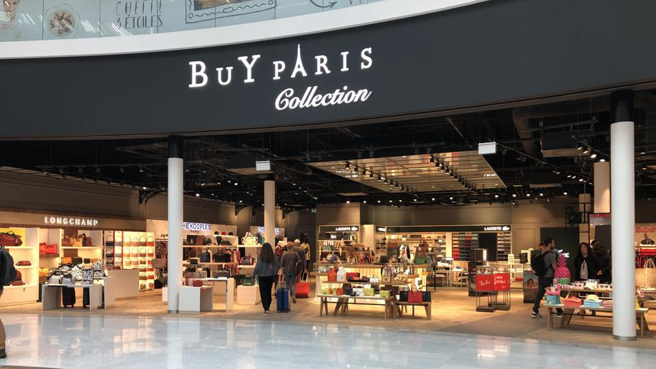 Buy Paris Collection front of store, Orly