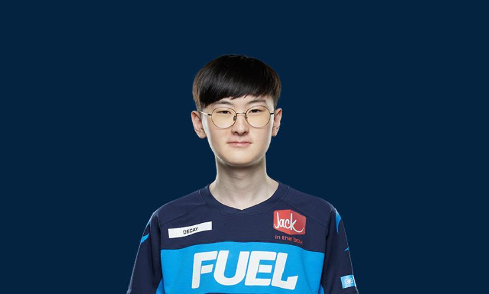 Former Dallas Fuel player Gui-un ″Decay″ Jang