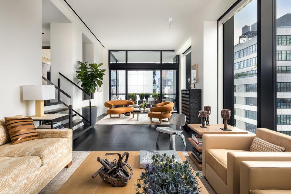 A Manhattan apartment.
