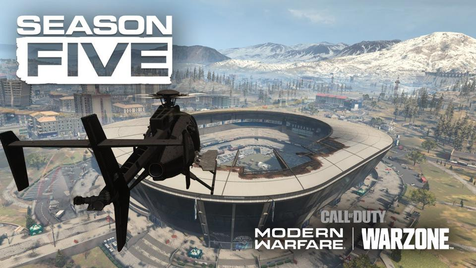 Call Of Duty Modern Warfare And Warzone Season 5 Trailer