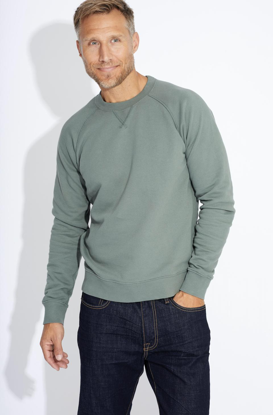 Pact's Essential Sweatshirt – Made with 100% Organic Cotton and Fair Trade Certified™