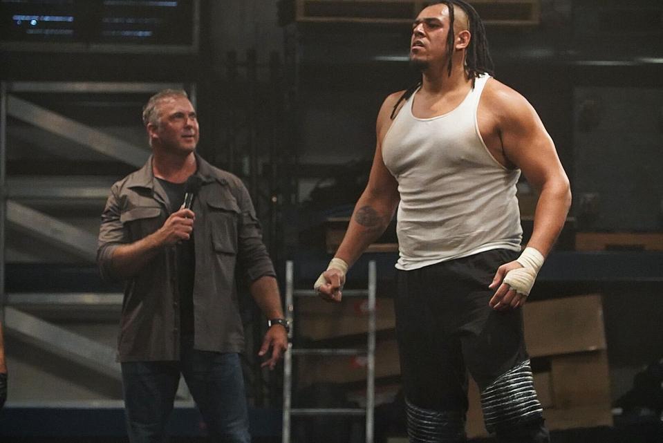 Shane McMahon introduced WWE Raw Underground. .