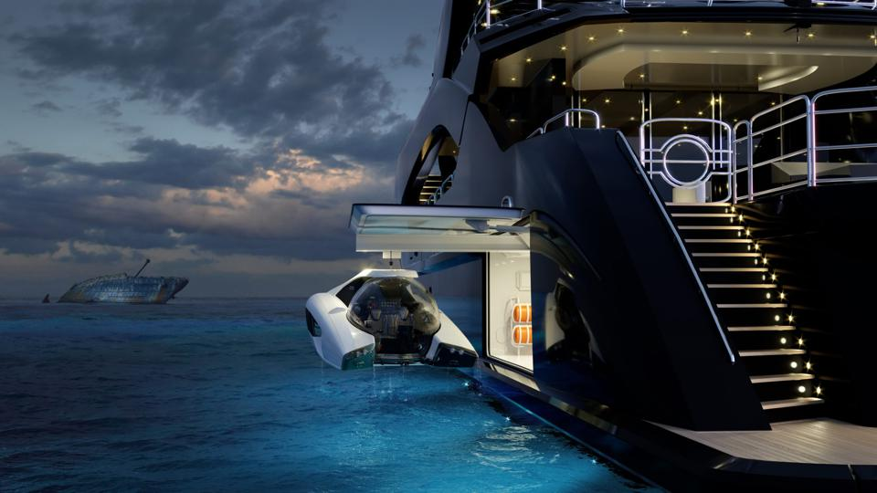 U-Boat Worx personal submarine for yachts