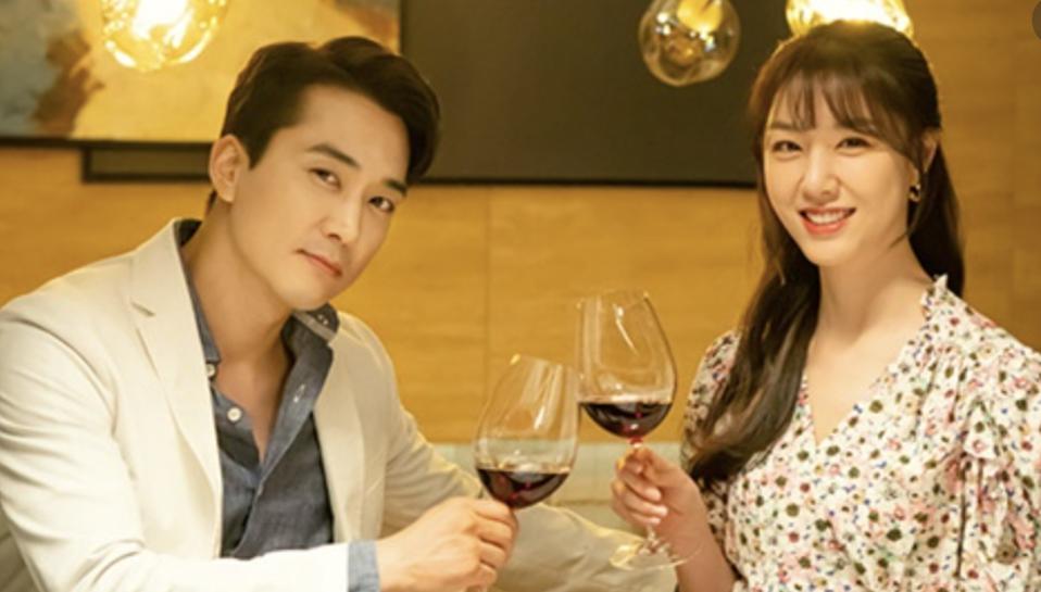 iQIYI International aired 'Dinner Mate,' starring Song Seung-heon and Seo Ji-hye.
