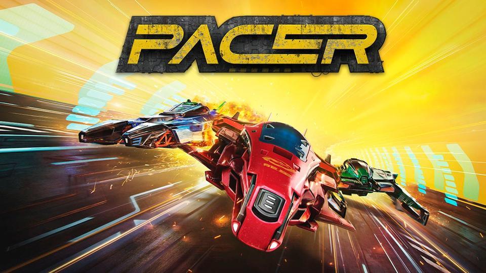 Pacer anti-gravity racing game logo