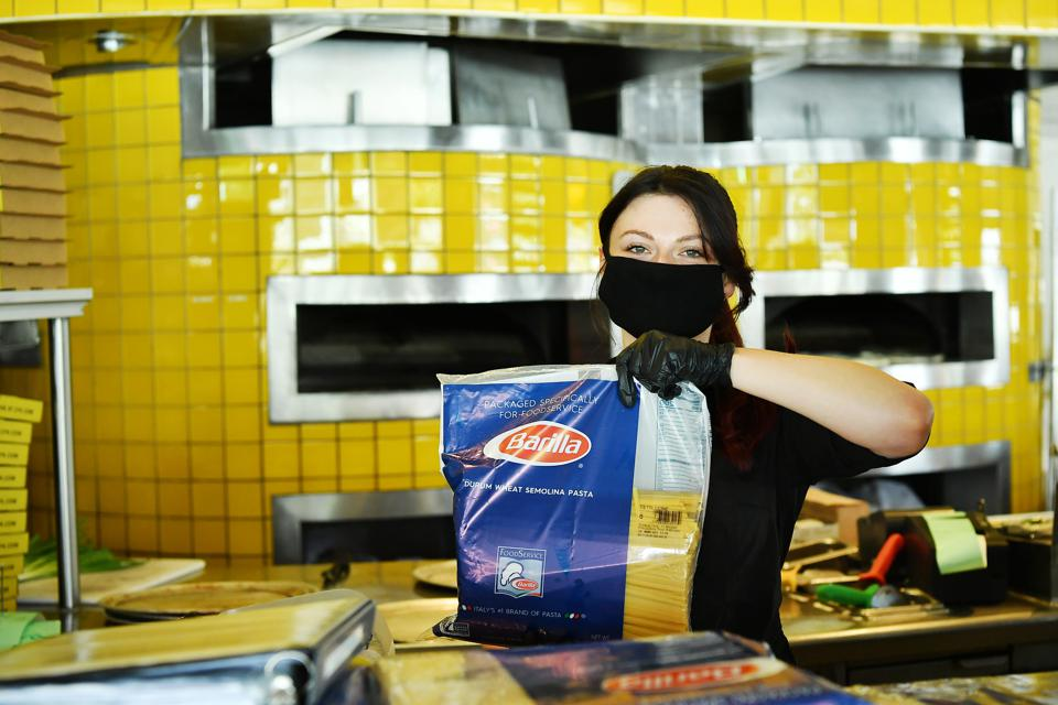 Los Angeles Restaurants Sell Groceries To Stay Afloat In Reaction To The Coronavirus