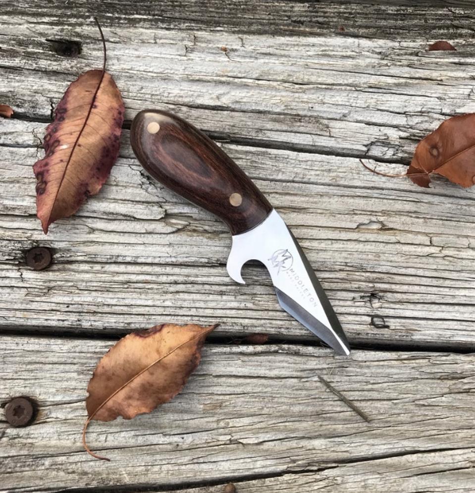 Middleton Made Knives' Oyster Brew Shucker Knife