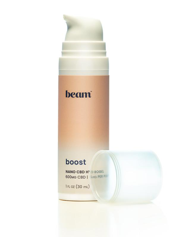 J Heroun  beam's boost is a nano-based CBD powder that is packed with lots of tiny particles for quick recovery.
