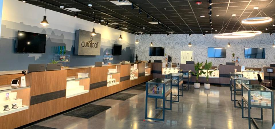Curaleaf's new retail store environment