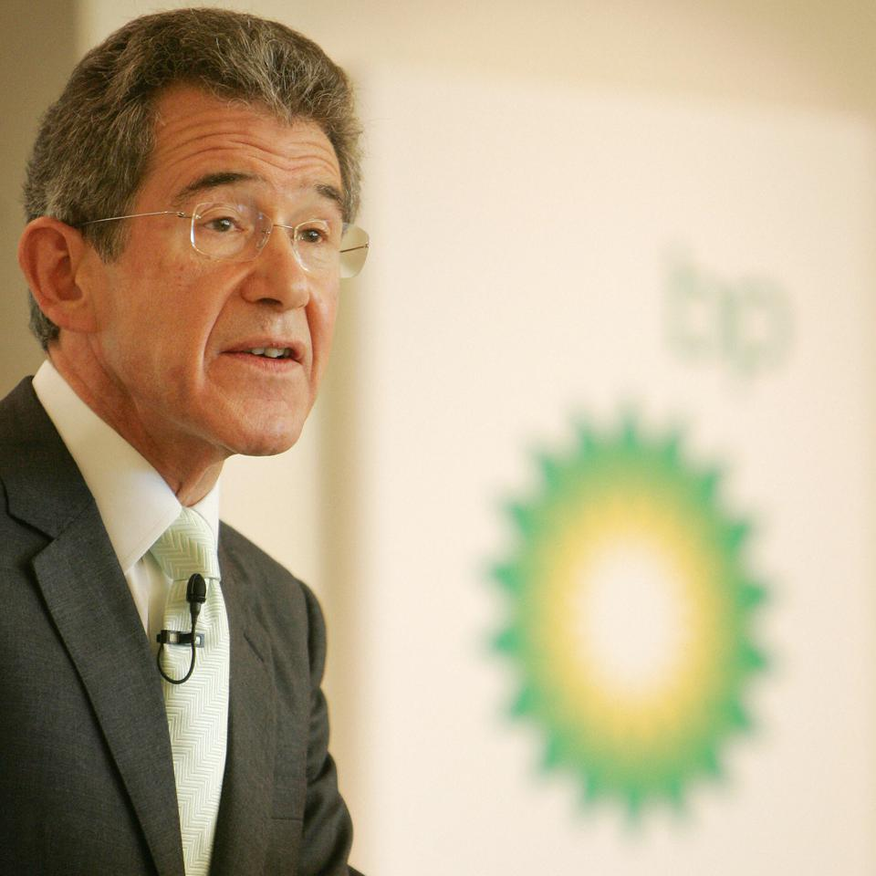 Lord John Browne, group chief executive