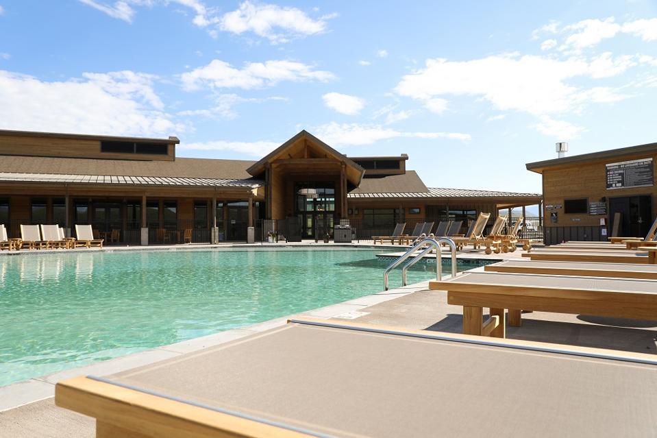 River run resort pool