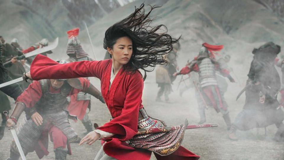 A scene from Disney's live-action film Mulan