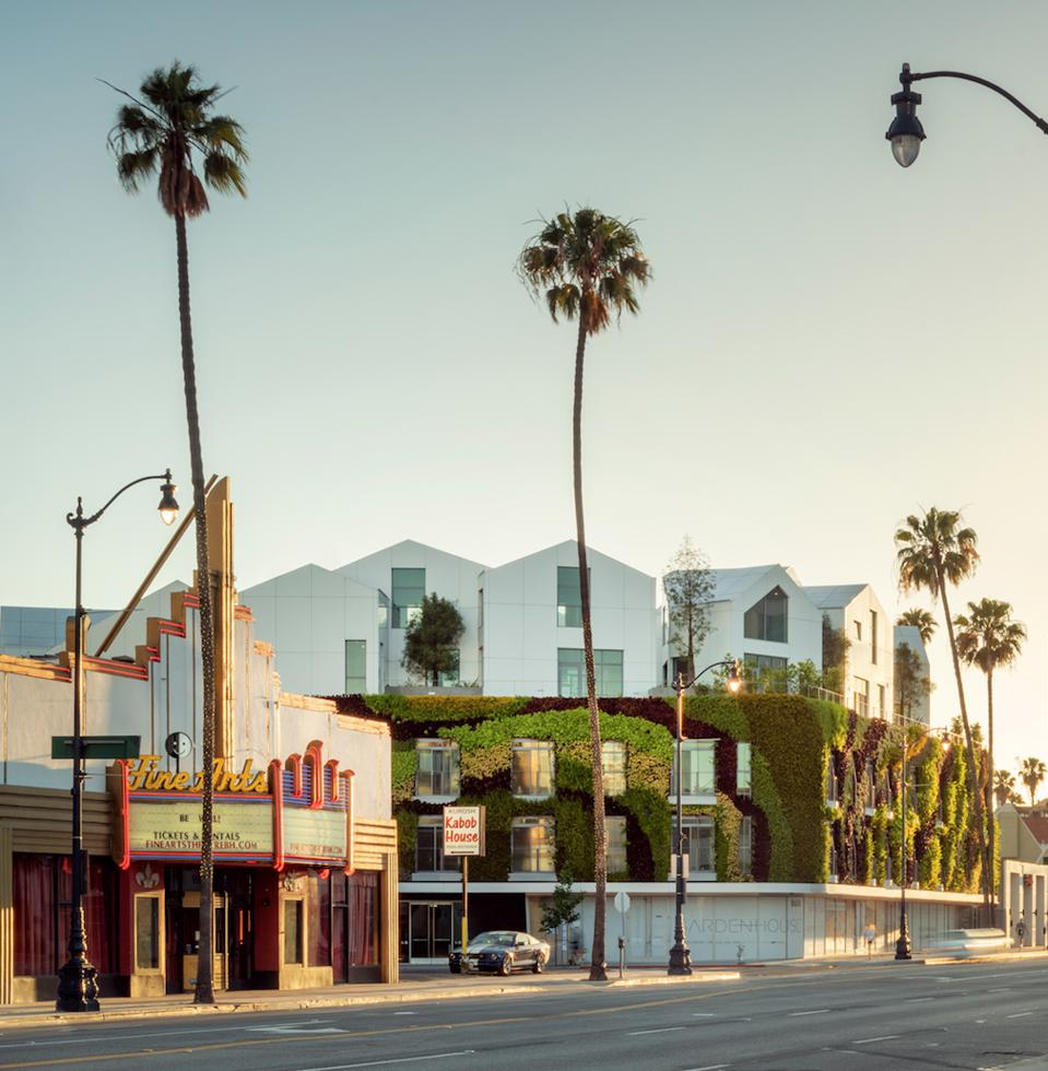 Gardenhouse, MAD Architects, Beverly Hills, nature, design, Los Angeles, high-end retail