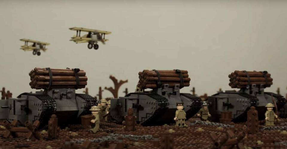 Lego Battle of Cambrai