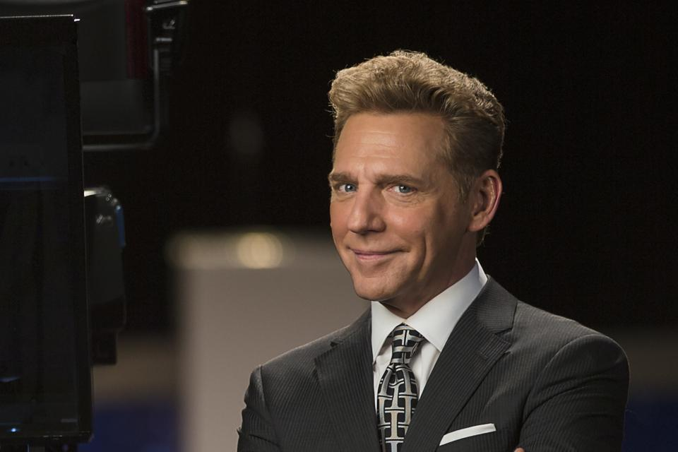 Scientology boss David Miscavige in 2016 at the church's global media center in Hollywood.