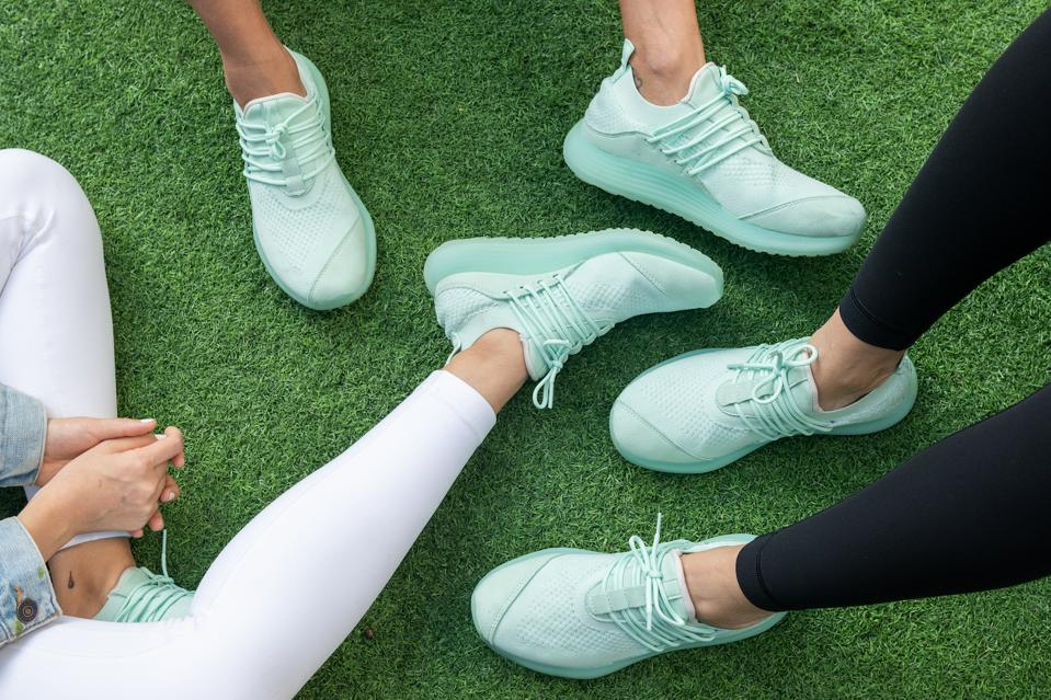 The brand's signature AD1 trainers have been designed to be an all-rounded, high-performance unisex workout shoe