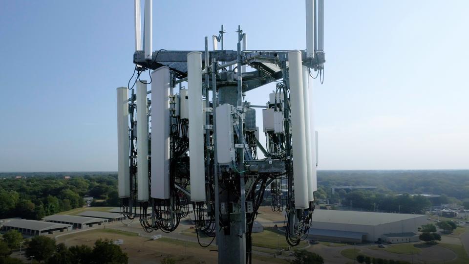 Cellular Network Radio Tower