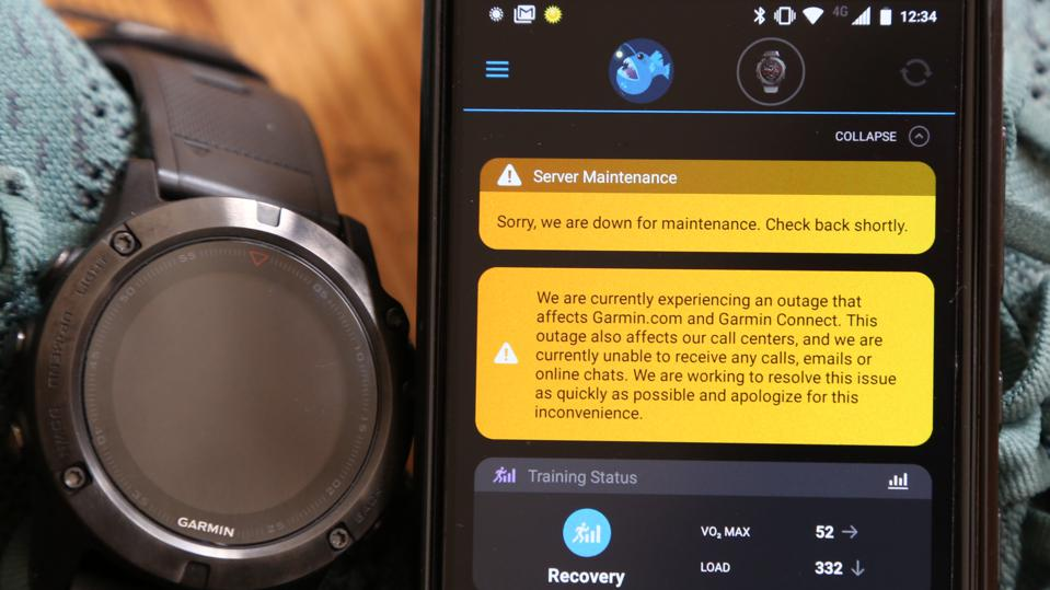 Suspected Ransomware Attack Responsible for Massive Garmin Outage