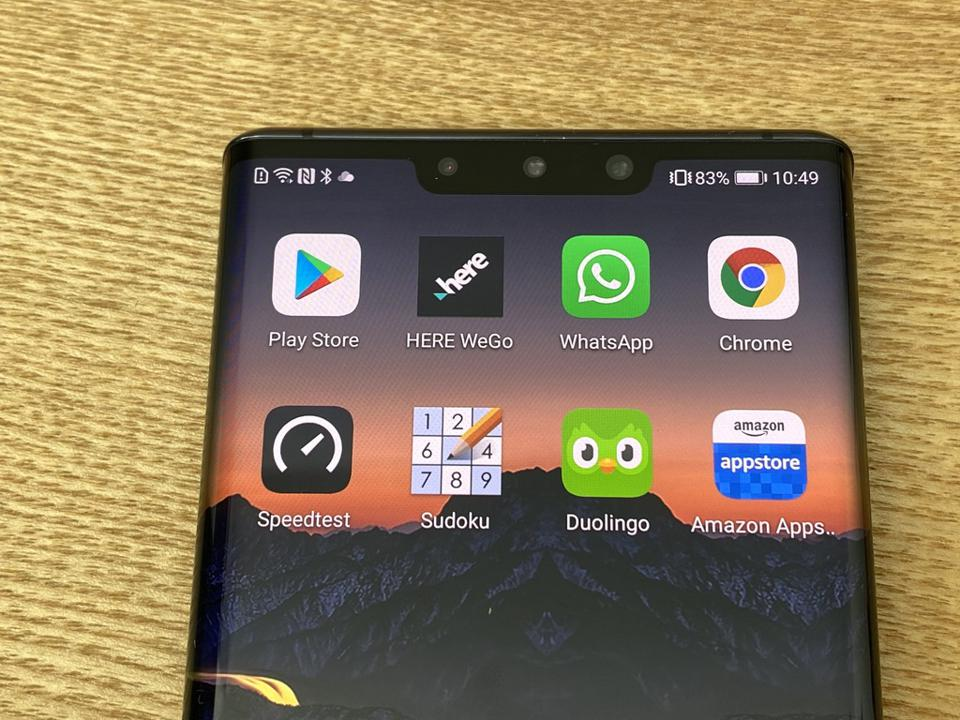 Will the notch on the Mate 30 Pro shrink to a holepunch on the Mate 40 Pro?
