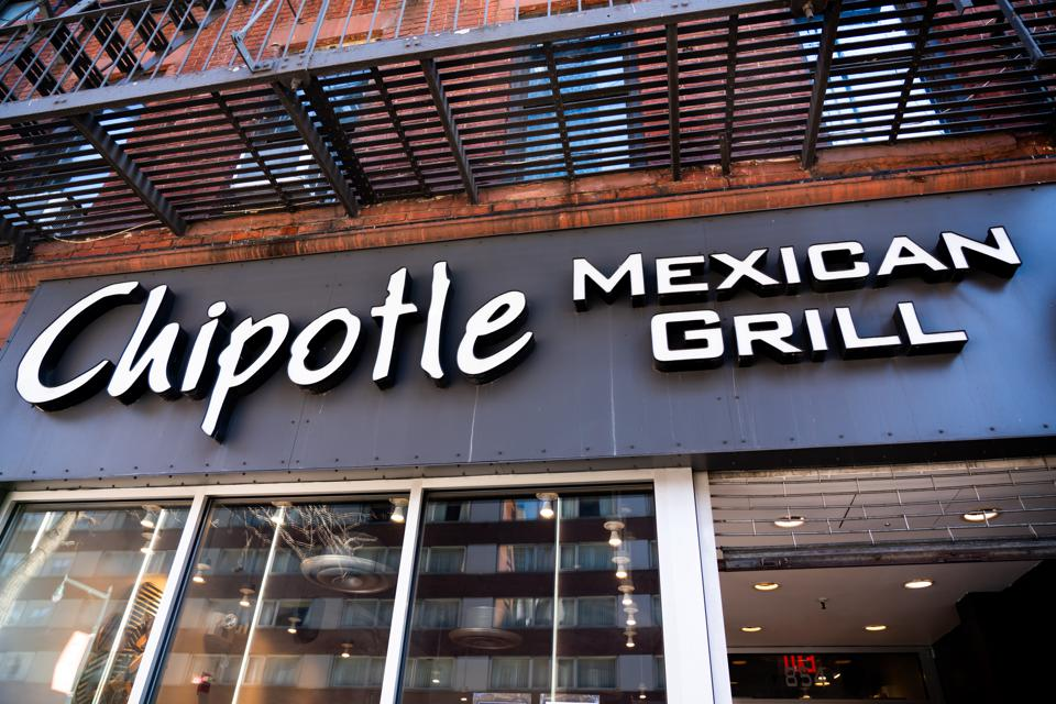 American fast casual restaurants chain, Chipotle Mexican...