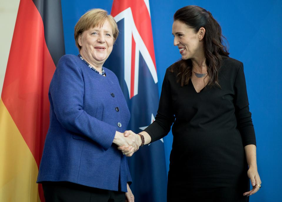 New Zealand's Prime Minister visits Germany