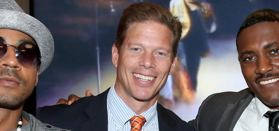 Topgolf CEO Dolf Berle.