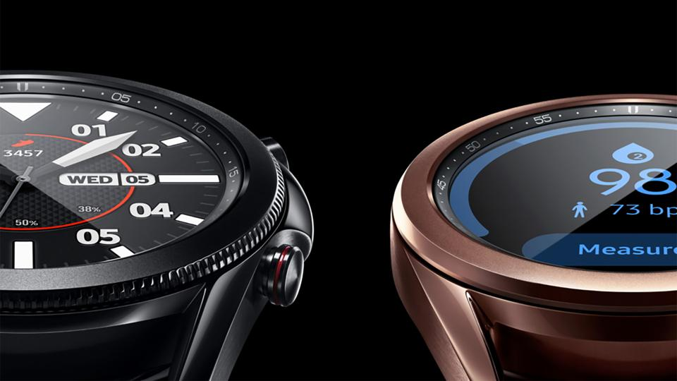 An official image of the two Galaxy Watch 3 sizes.