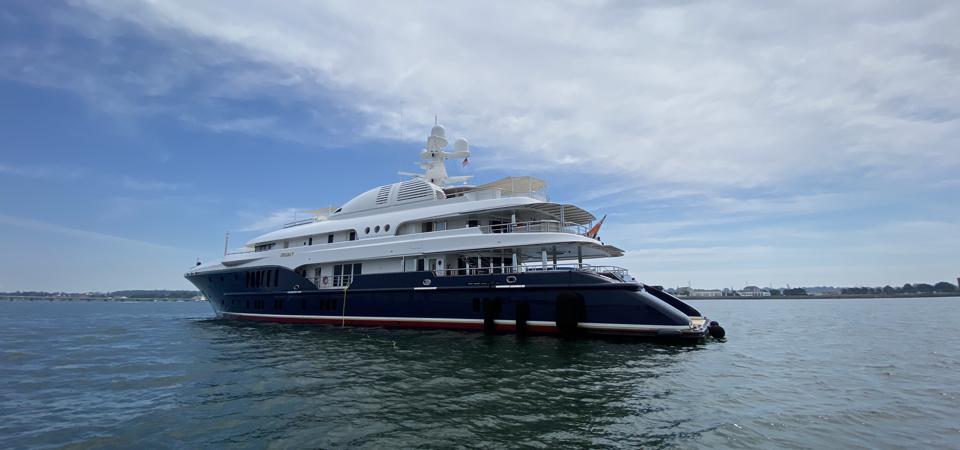 SYCARA V spotted in Newport, Rhode Island summer 2020