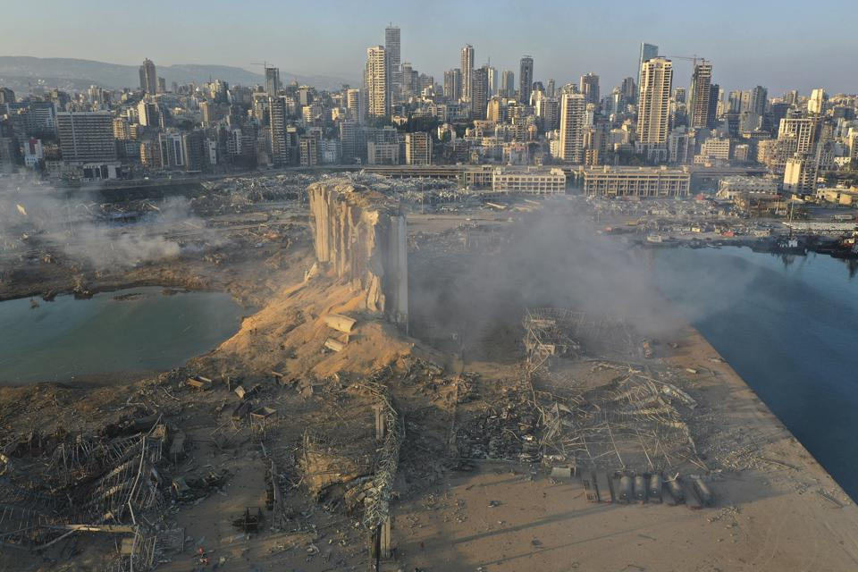 Here's What Beirut Looks Like After The Explosions That Rocked The ...