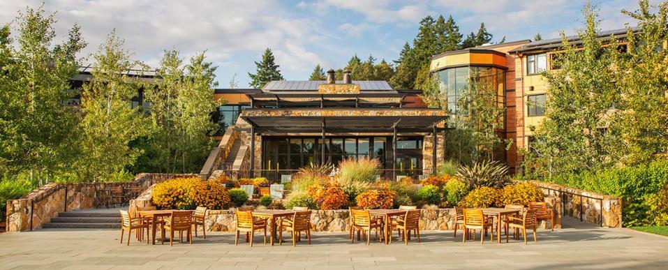 The Allison hotel in Newberg, Oregon
