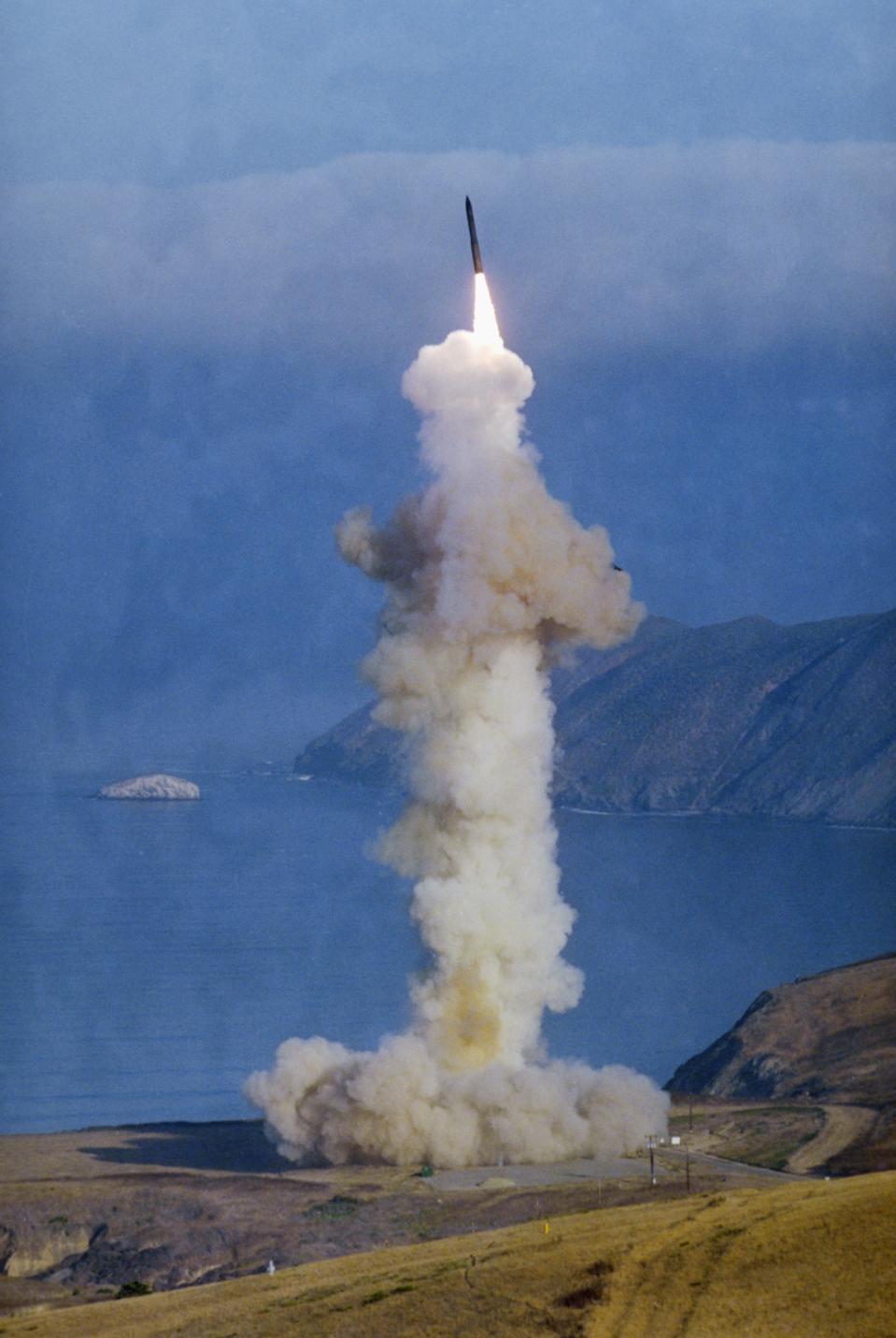 Minuteman II ICBM Launching