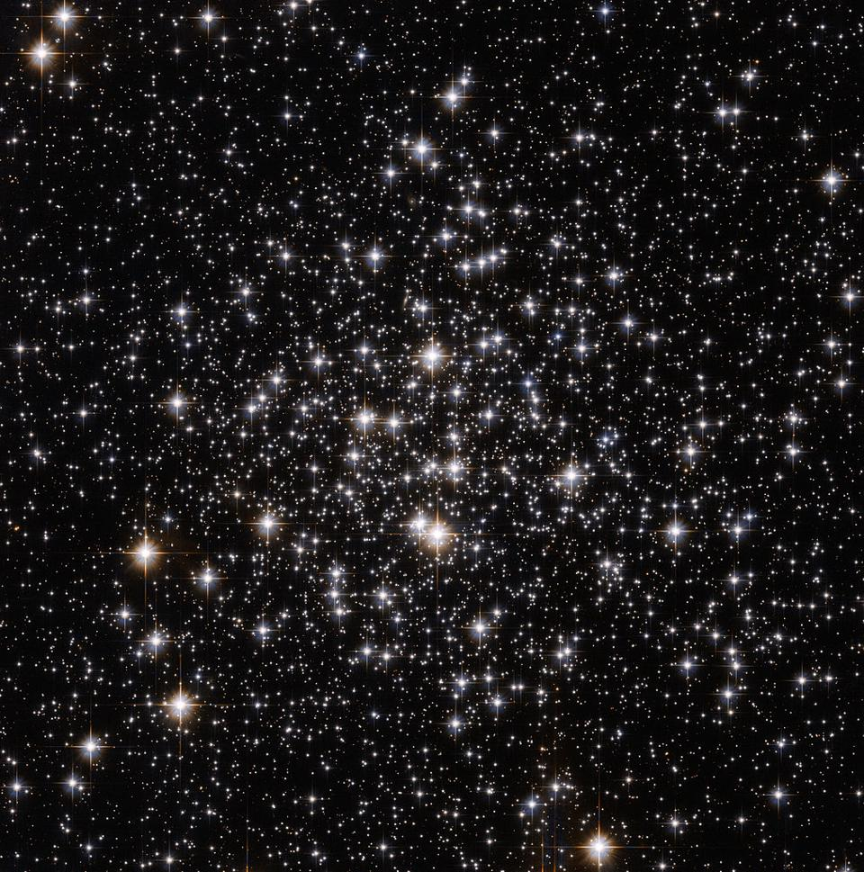 The Hubble Space Telescope's view of globular cluster Messier 71.