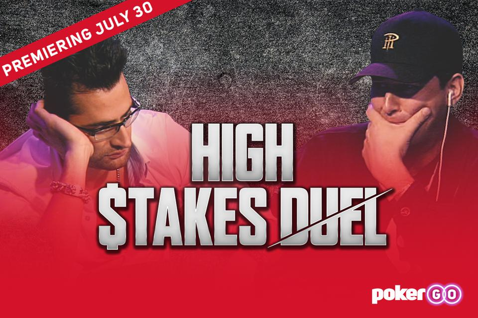 Phil Hellmuth and Antonio Esfandiari set to face off in rematch.