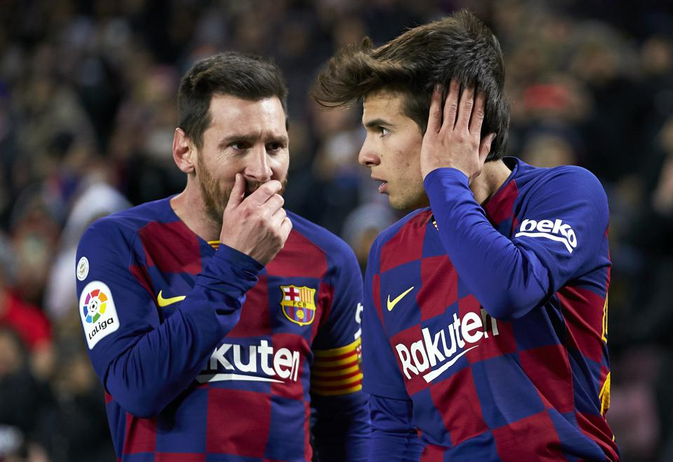 Riqui Puig: From Finals Fan In The Stands To Starter, Barcelona Whizz Is  Ready For Champions League